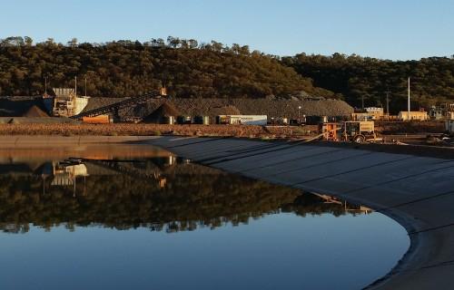 Tailings Dam Water Disposal