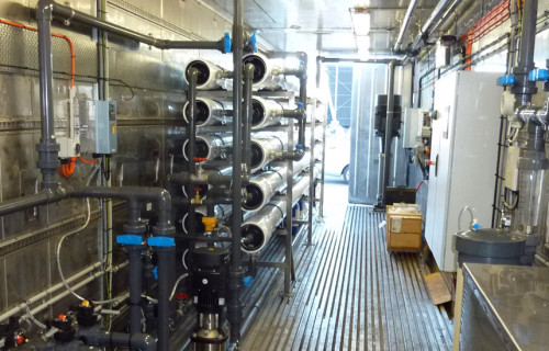 Desalination Plant for Power Station Operation